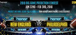 Huawei Big Game Prediction Game Contest & Sweepstakes