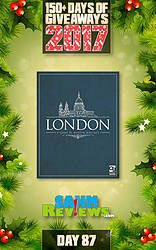 SAHM Reviews: 150+ Days of Giveaways - Day 87 - London Board Game Giveaway
