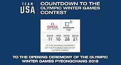 Team USA Countdown to Winter Olympics Instant Win Game