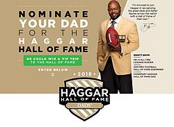 Haggar Hall of Fame Dads Contest & Sweepstakes