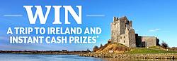 Irish to the Core Sweepstakes & Instant Win Game