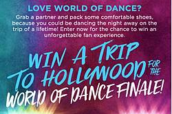 NBC the World of Dance Finale Sweepstakes