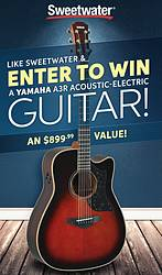 Sweetwater Yamaha Guitar Giveaway