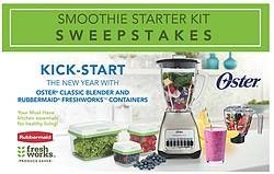 Sunbeam Products Smoothie Starter Kit Giveaway