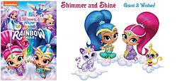 Pausitive Living: Shimmer and Shine Beyond the Rainbow Falls DVD Giveaway