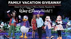 Wheel of Fortune Disney Family Vacation Sweepstakes