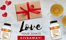 Turmeric Usa Love Your Joints Giveaway