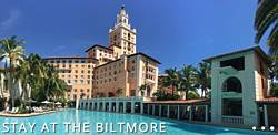 Let's Fly Away Biltmore Hotel in Miami
