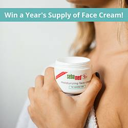 Year's Supply of Sebamed Face Cream Giveaway