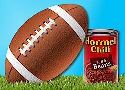 Hormel Chili Ultimate Football Bash Sweepstakes