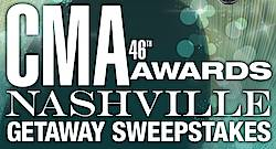 CMA Awards Nashville Getaway Sweepstakes