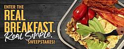 Smithfield Real Breakfast Real Simple Sweepstakes