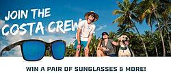 Costa Sunglasses Email Opt-in Sweepstakes