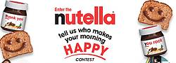 Nutella Who Makes Your Morning Happy Contest