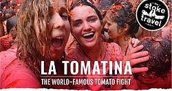 Win a Trip for 2 to La Tomatina 2019 With Stoke Travel