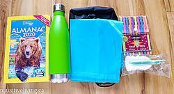 Pausitive Living: National Geographic Kids Almanac 2020 Summer on the Go Prize Pack Giveaway