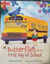 Little Lady Plays: Butterflies on the First Day of School Giveaway