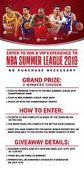 VIP Experience to NBA Summer League 2019 Giveaway