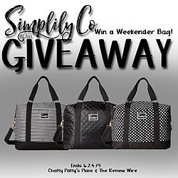 Review Wire: Large Weekender Bag From Simplily Co. Giveaway