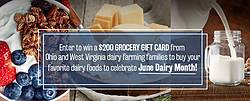 2019 June Dairy Month Sweepstakes