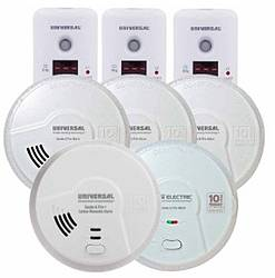Universal Security Instruments Smoke + Co Safety Alarm Sweepstakes