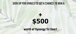 Synergy Wetsuits Ultimate Countdown to Kona Sweepstakes