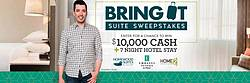 HGTV's Bring It Suite Sweepstakes