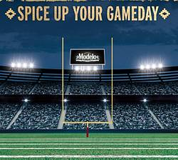 Modelo Football Instant Win Game & Sweepstakes