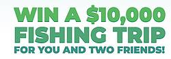 Fishing Trip for You and 2 Friends Sweepstakes