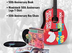 Woodstock 50th Anniversary Sweepstakes