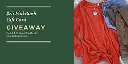 LimByLim: $75 Gift Card for PinkBlush Clothing Giveaway
