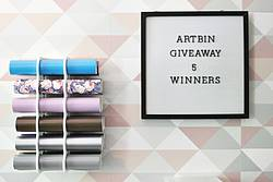 Ourcraftymom: ArtBin Craft Vinyl Storage Bundle Giveaway