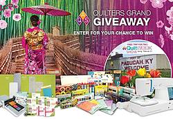American Quilter's Society Fall 2019 Quilters Grand Giveaway