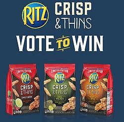 Ritz Crisp & Thins Limited Edition Instant Win Game