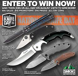 Smoky Mountain Knife Works National Knife Day 2019 Giveaway