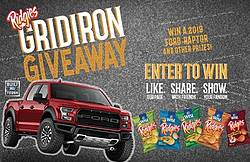 Wise Foods Gridiron Giveaway