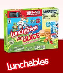Lunchables Mixed-Up Gamers Instant Win Game