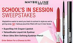 Maybelline New York School's in Session Sweepstakes