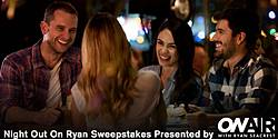 OnAir With Ryan Seacrest Night Out on Ryan Sweepstakes