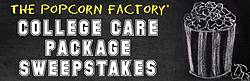 Popcorn Factory 2019 College Care Package Sweepstakes