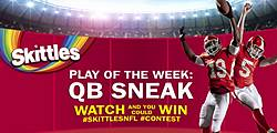 SKITTLES Celebrate the Funner Side of the NFL Sweepstakes