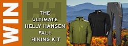 Back Country Skiing Canada the Ultimate Helly Hansen Fall Hiking Kit Giveaway