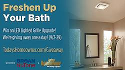 Today's Homeowner's Freshen Up Your Bath Giveaway