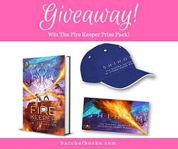Batchofbooks: The Fire Keeper Prize Pack From Rick Riordan Presents Giveaway