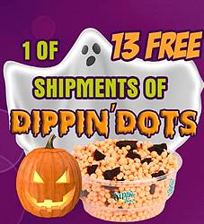 Dippin' Dots Scream Giveaway