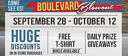 Boulevard Blowout 15 Days of Giveaways