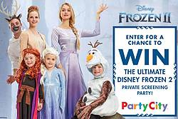 Party City Ultimate Screening Party Sweepstakes