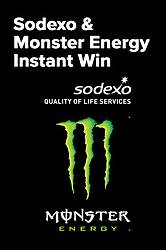 Coca-Cola 2019 Sodexo Monster Energy Sweepstakes & Instant Win Game