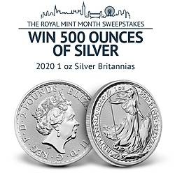 APMEX Royal Mint Month Sweepstakes