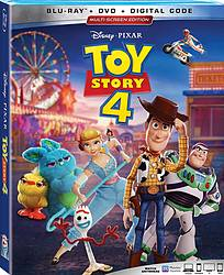 Toy Story 4 Blu-Ray-DVD-Digital Combo Pack Giveaway